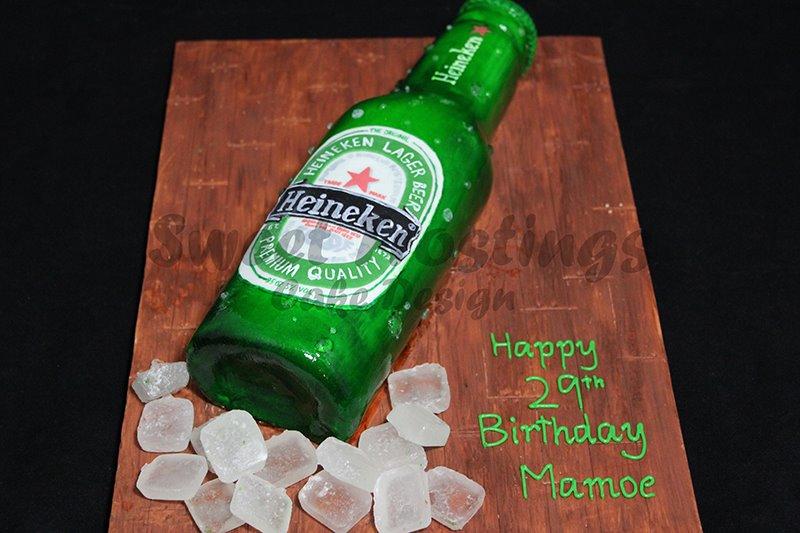Heineken Beer Cake Recipe