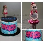 HyFidelity Dance Cake