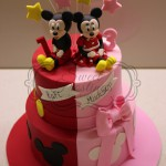 Mickey Minnie Mouse Cake
