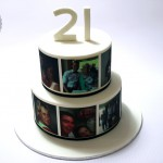 Personalised Colour Photo Cake