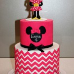 Standing Minnie Mouse Birthday Cake