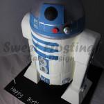 Star Wars R2D2 Cake