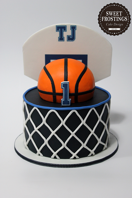 Basketball Cake Margarita Packham Flickr Gatos Pinterest