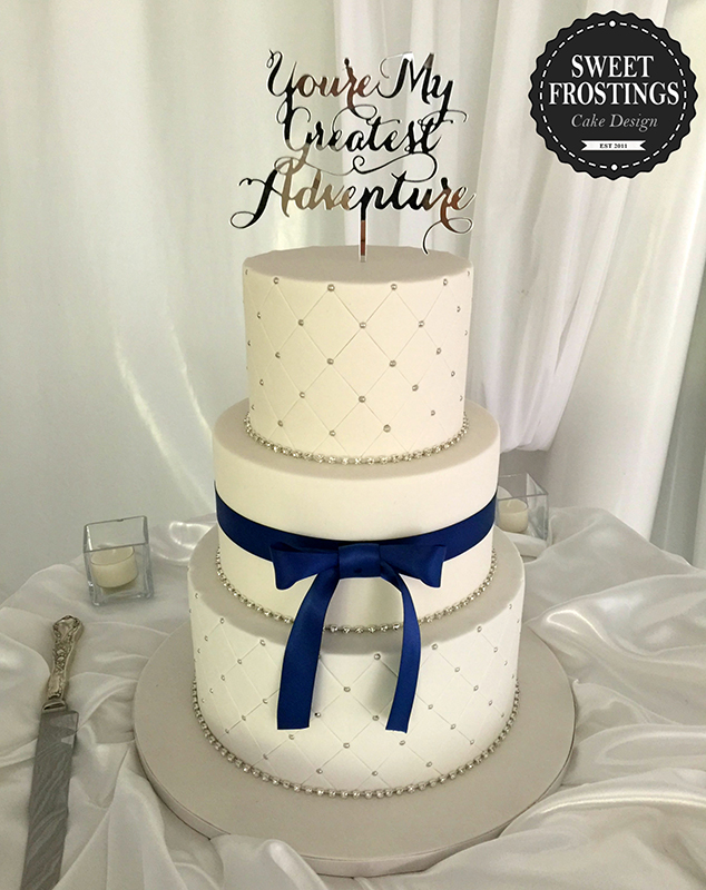 Wedding Cakes Sweet Frostings Cake Design