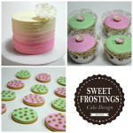 Pink Green Cakes