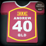 Qld Maroons Jersey Cake