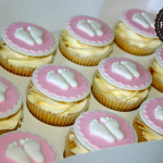 Pink Baby Cupcakes